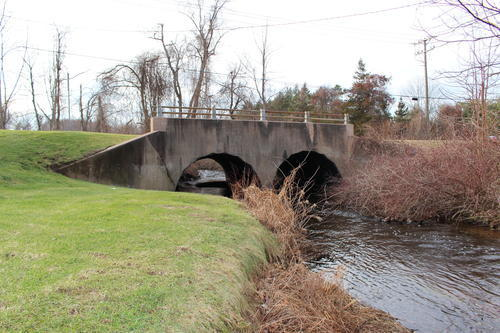This bridge along Eastern Boulevard and spans Salmon Brook is scheduled to be replaced.