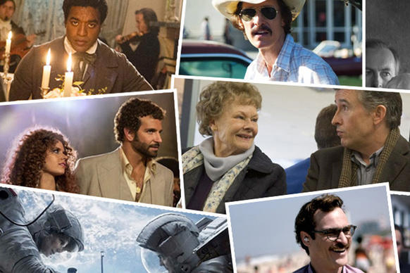 A look at the top winners and nominees for the 86th Academy Awards.
