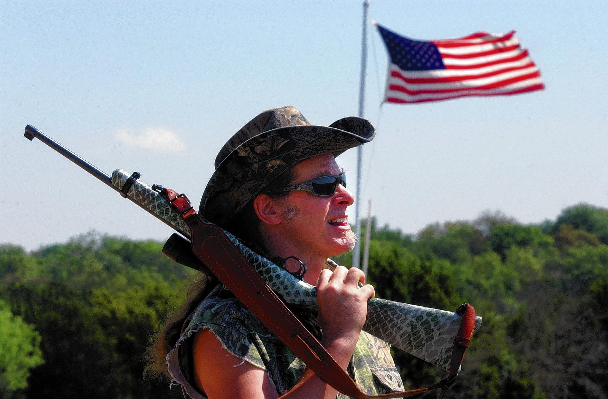Rock and roller and outdoorsman Ted Nugent says 'The fact that Pennsylvania and 10 other states forbid God's natural hunting season on Sunday is one of the great tragedies against freedom and the Liberty Bell that stands in Philadelphia. It's a truly bizarro world that a government can tell a free man what he can do on Sunday, especially when [the government] can't.'