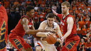 Terps make up most of late deficit, but Virginia pulls away in win