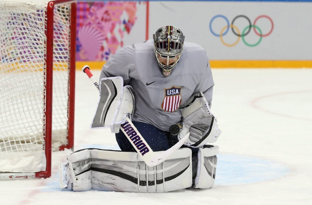 jonathan quick in a different place in sochi olympic