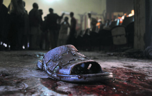 Pakistan movie theater attack
