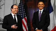 State dinner for France's Hollande may get awkward after his breakup
