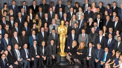 Oscar nominees group photo