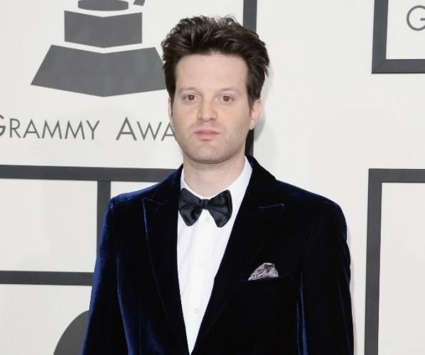 Singer Mayer Hawthorne attends the Grammy Awards at the Staples Center in Los Angeles Jan. 26, 2014.