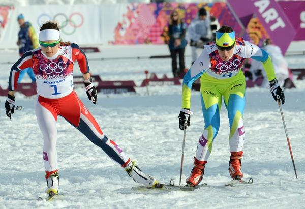 Women's cross-country skiing is the final event of these Olympics. (Kirill Kudryavtsev / AFP/Getty Images)