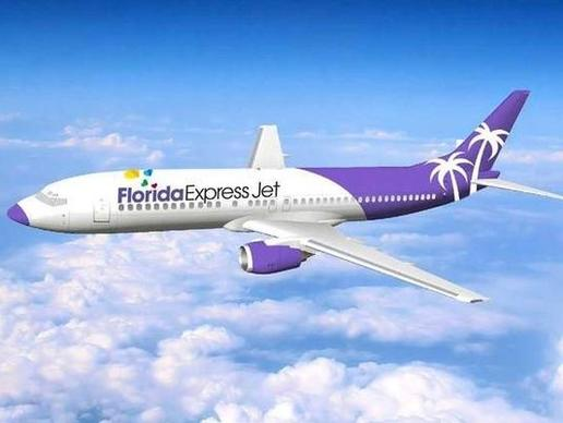 Florida Express Jet is a new airline that will feature affordable flig
