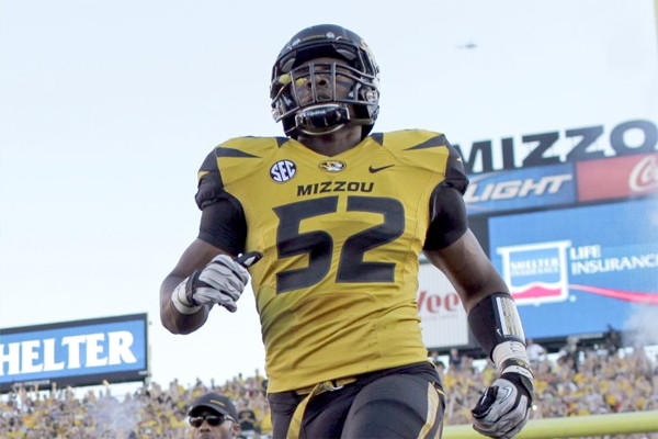 Missouri defensive end Michael Sam, the Southeastern Conference's co-defensive player of the year, came out publicly Sunday, announcing he was gay.