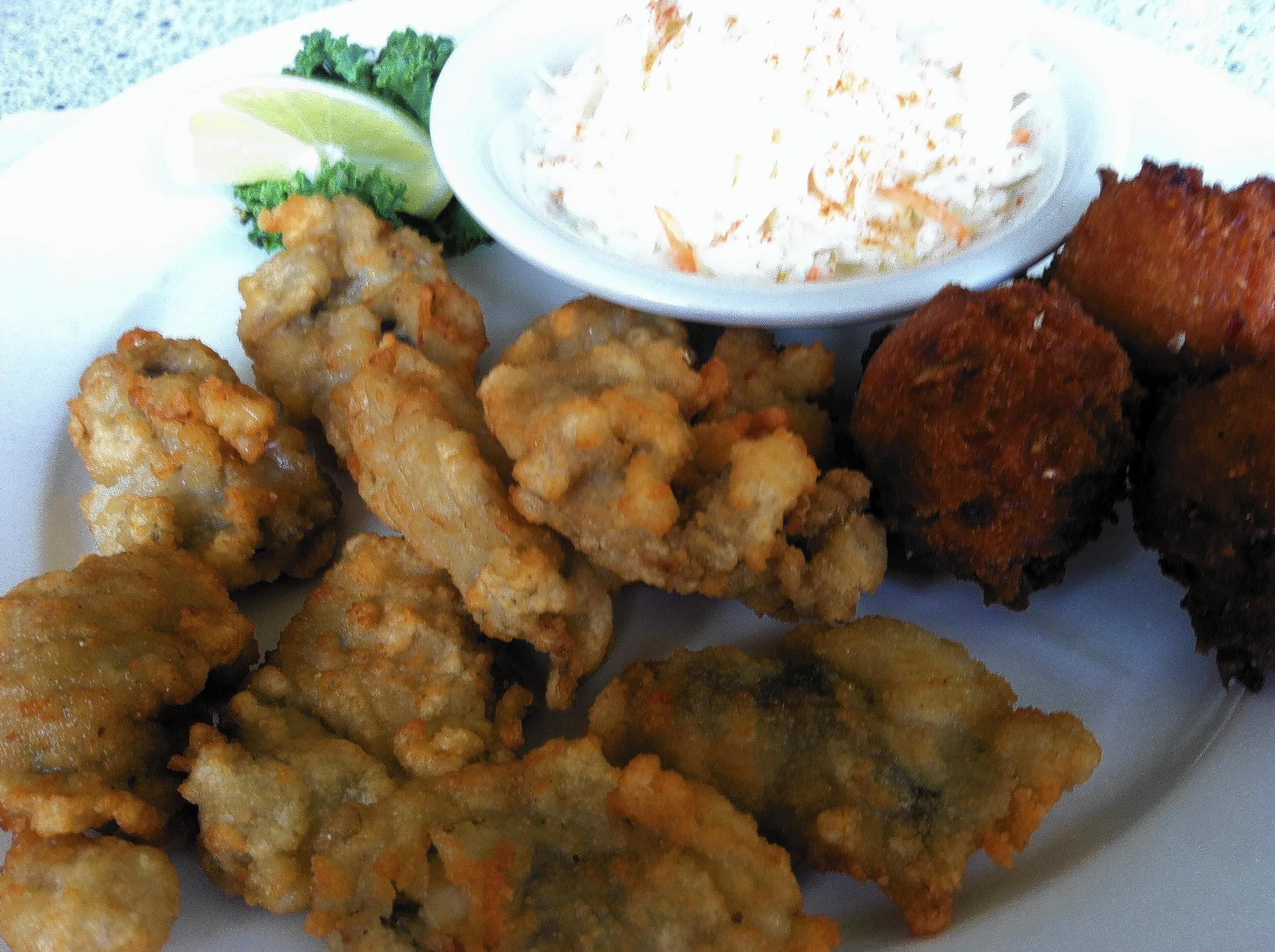 Food Find: Oyster Platter at The Anchor Inn
