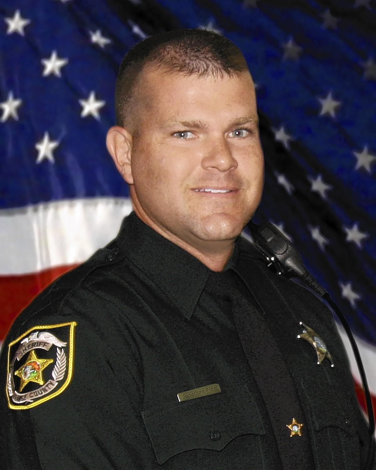 Deputy Scott Pine, 34, had been employed with the Orange County Sheriff's Office since 2011. He was gunned down by a burglary suspect early Tuesday.