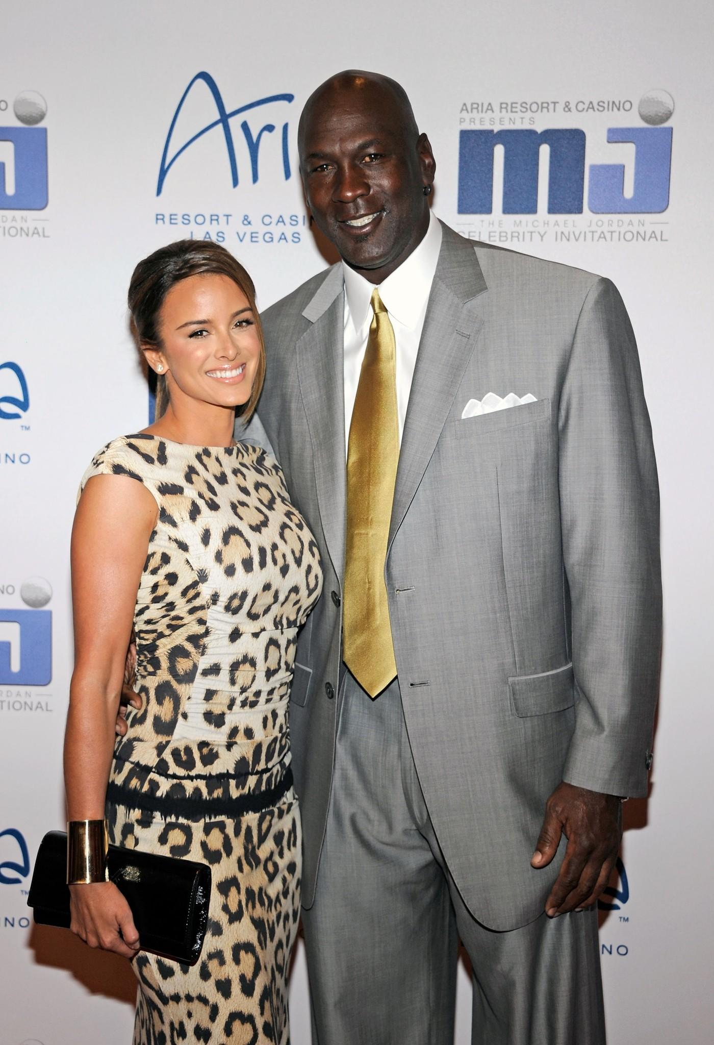 Michael Jordan with Yvette Prieto in 2011.