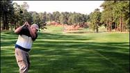 Golfing at Pinehurst