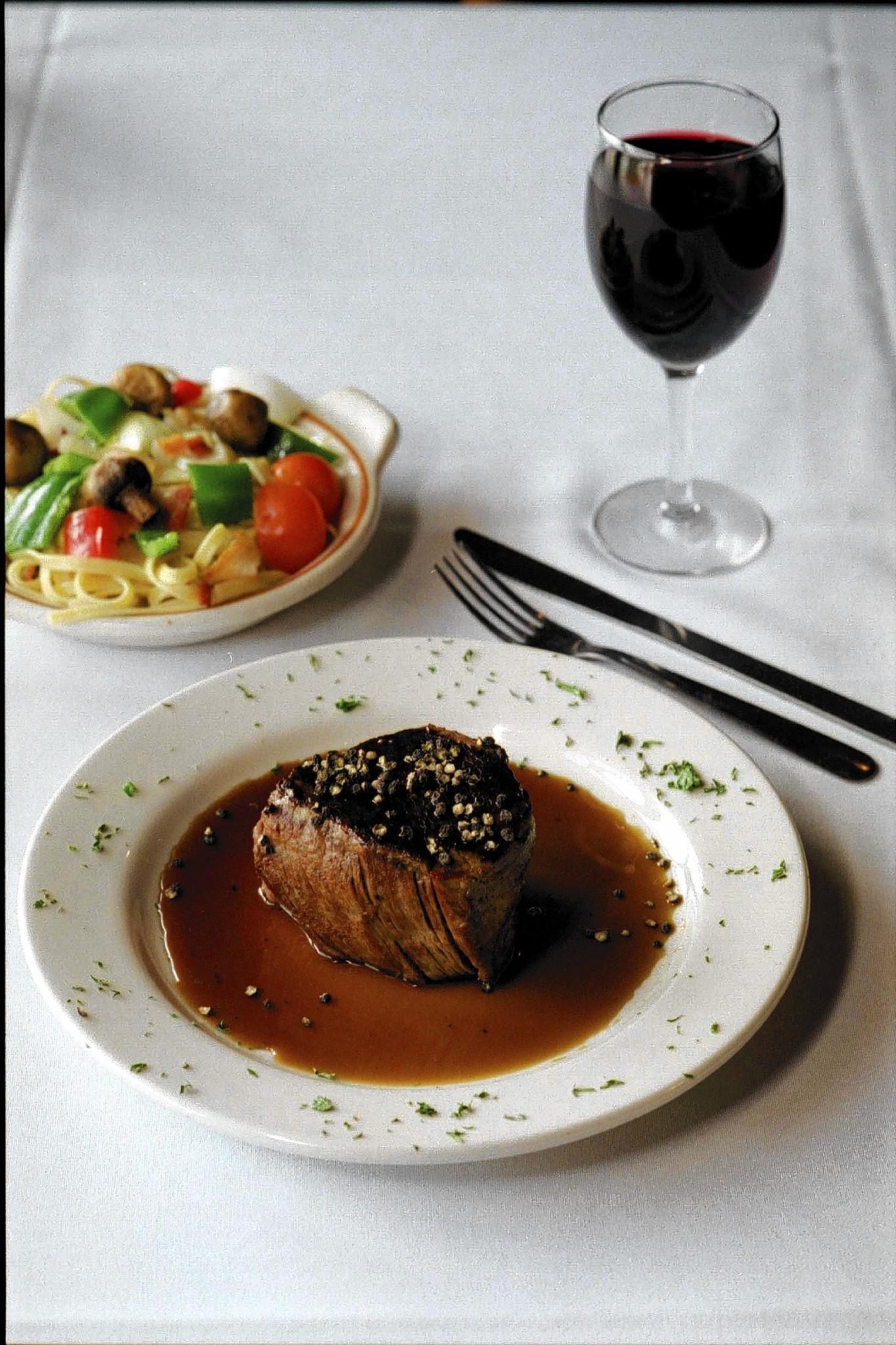Brown sugar and cracked black pepper flavor Townsend's Bourbon Steak.
