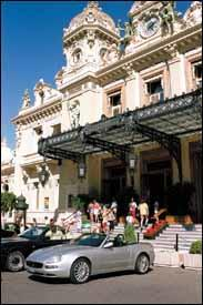 Monte Carlo's casino draws tourists and gamblers from all around the world.