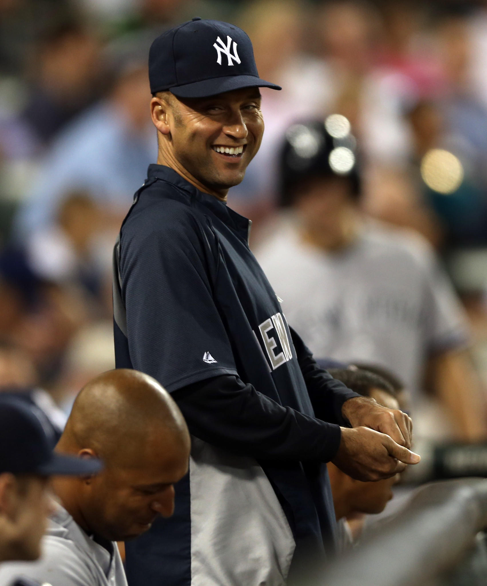 New York Yankees' Derek Jeter during a game against Chicago White Sox on Aug. 7.