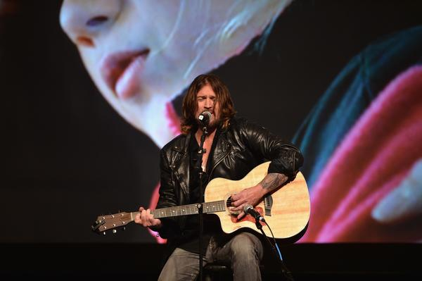 "Billy Ray Cyrus has put a rap spin on his hit ""Achy Breaky Heart"""