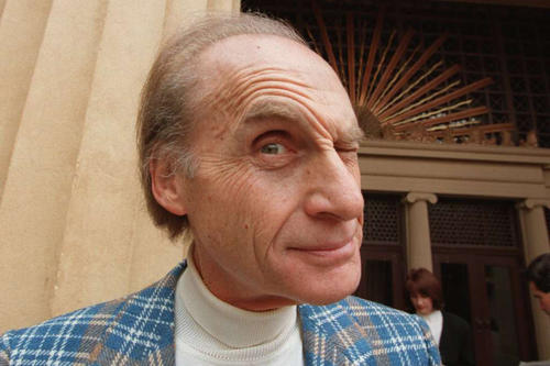 """Sid Caesar, a television pioneer  who reigned as the king of live TV sketch comedy in the 1950s with his inspired brand of mimicry, pantomime and satire on the classic comedy-variety series """"Your Show of Shows"""" and """"Caesar's Hour,"""" died Wednesday, Feb. 12, 2014. He was 91. He made us laugh and laugh. Here we round up just a few of the wide range of faces he's made throughout the years. <br><br>  At a news conference announcing the formation of the Glendale Festival Orchestra in 1995, Sid Caesar made a face before his premiere performance with the orchestra, """"Sid Caesar: Launching the Next 50 Years!"""""""