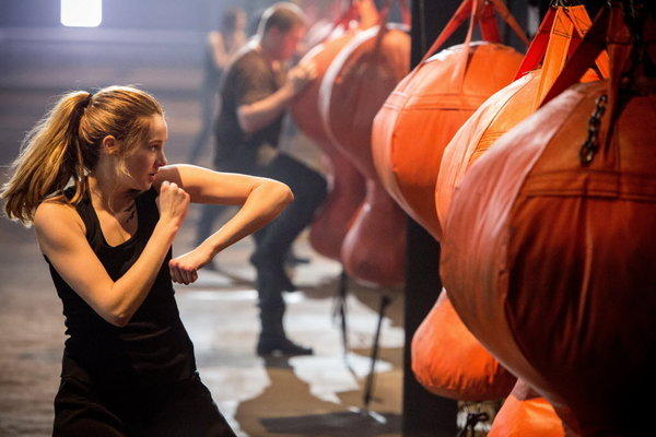 """Scene from the film """"Divergent."""""""