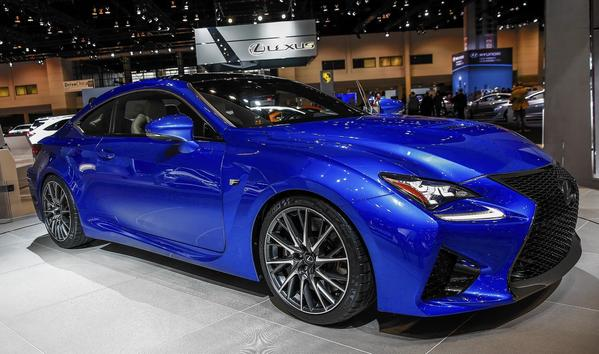 Lexus was the most reliable car brand for the third consecutive year in J.D. Power and Associates' 2014 U.S. Vehicle Dependability Study. Above, a Lexus RCF Coupe displayed during the media preview for the Chicago Auto Show.