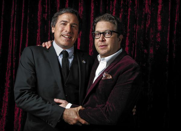 David O. Russell with Eric Warren Singer