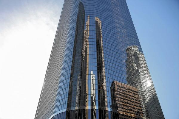 With 52 floors, Two California Plaza is one of the tallest buildings in downtown Los Angeles. It has been acquired by Hollywood developer CIM Group.