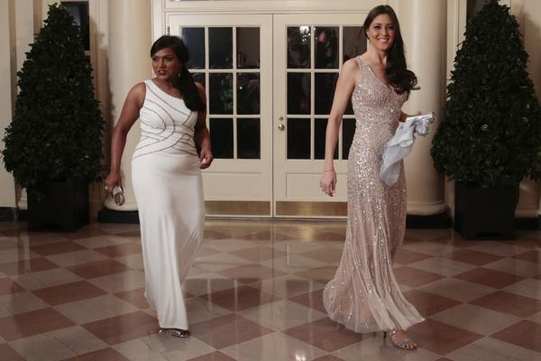 Mindy Kaling at White House state dinner