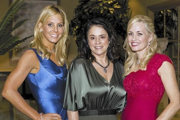 Stephanie Argyros (CHOC Cherishes Children Gala co-chair), CHOC President/CEO Kimberly Cripe and Christine Bren (CHOC Cherishes Children Gala co-chair).