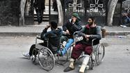 Fate of starving Syrian men evacuated from Homs remains unknown