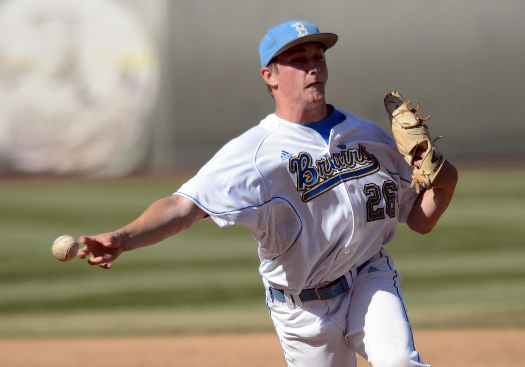 UCLA reliever David Berg went 7-0 last season with an NCAA-record 24 saves.