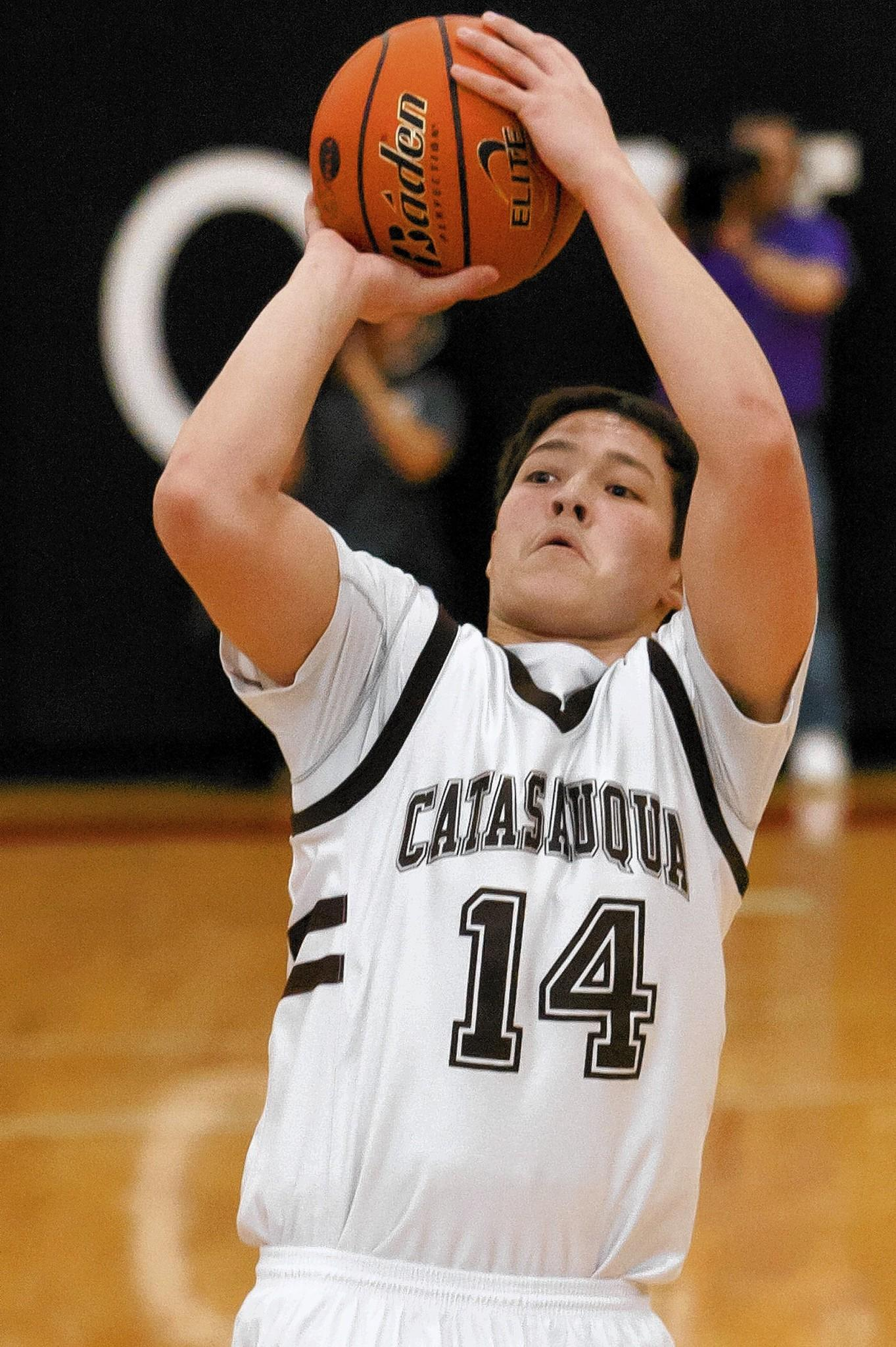 Brandon Purrone played a key role as Catty advanced to the Colonial League finals.