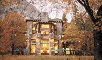 The Ahwahnee Lodge in California's Yosemite National Park