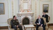 Amid U.S.-Egypt chill, Sisi seeks military assistance from Russia