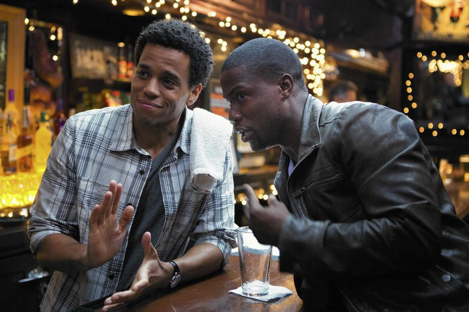 """Michael Ealy and Kevin Hart star in """"About Last Night."""""""