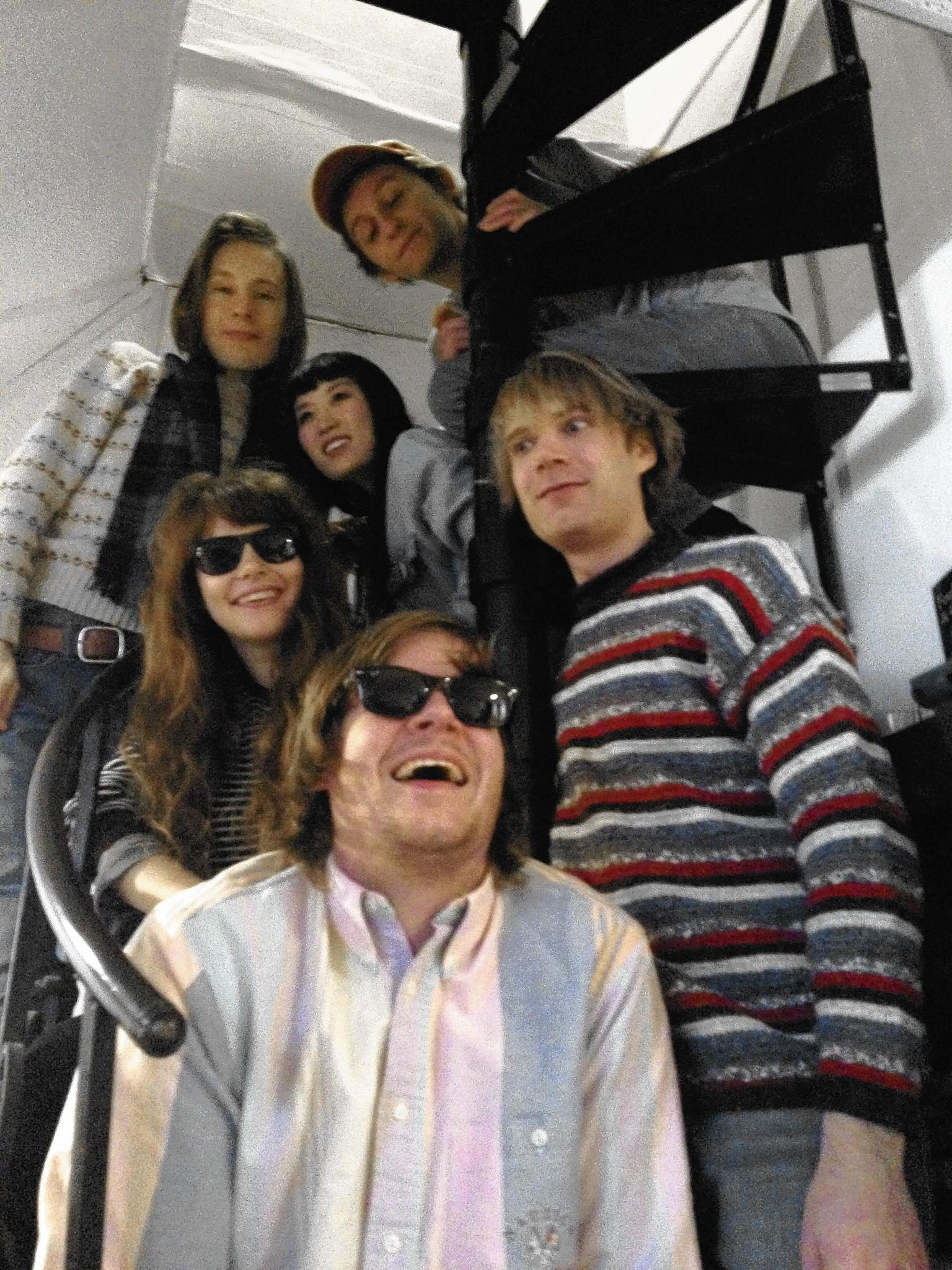 The Lemons with (stage names, clockwise from Top Right) John Lemon, Chris Twist, Juicy James, Kelly Lamone, Billy Sour and Kimmy Slice.