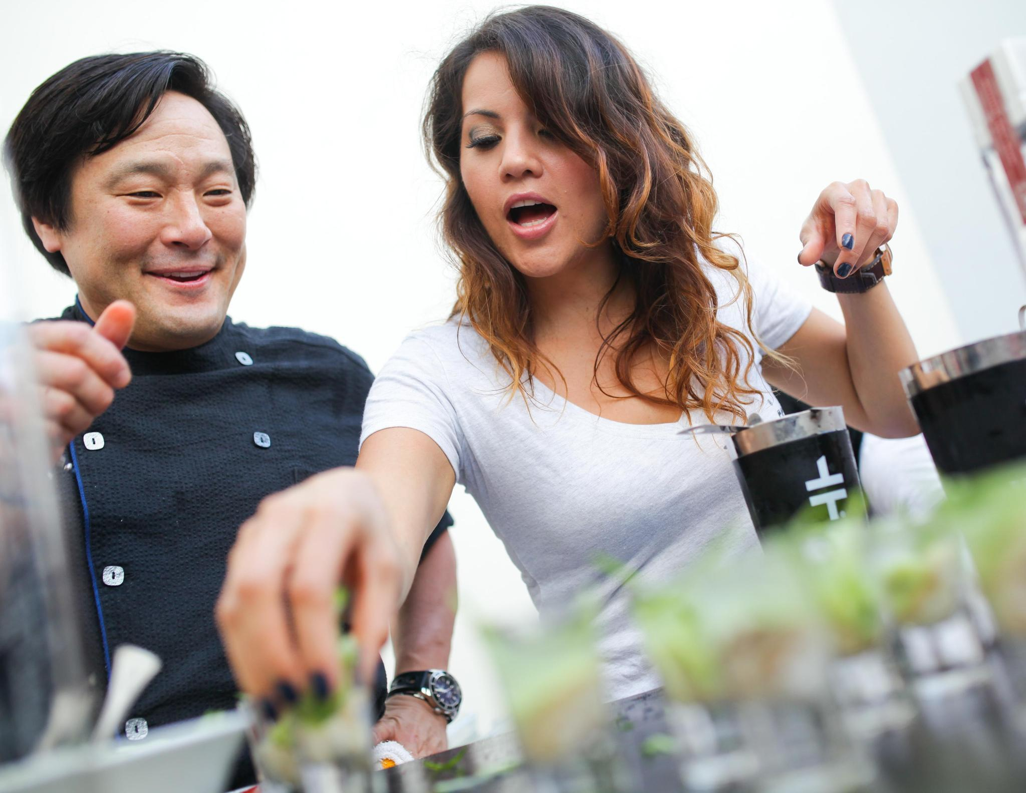 Celeb-spotting at SoBe Wine and Food Festival - Ming Tsai
