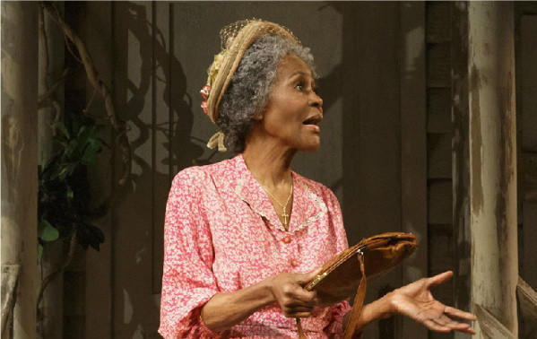 "Cicely Tyson in a scene from the 2013 Broadway revival of ""The Trip to Bountiful"" at the Stephen Sondheim Theatre in New York."
