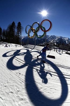 The sun has cast a warm shadow over the Sochi Olympics.