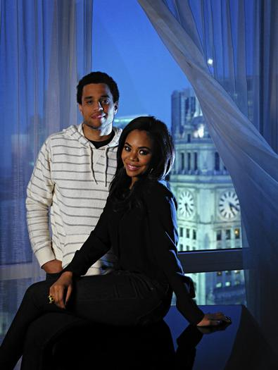 Michael Ealy and Regina Hall