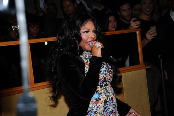 Rapper Lil' Kim is pregnant