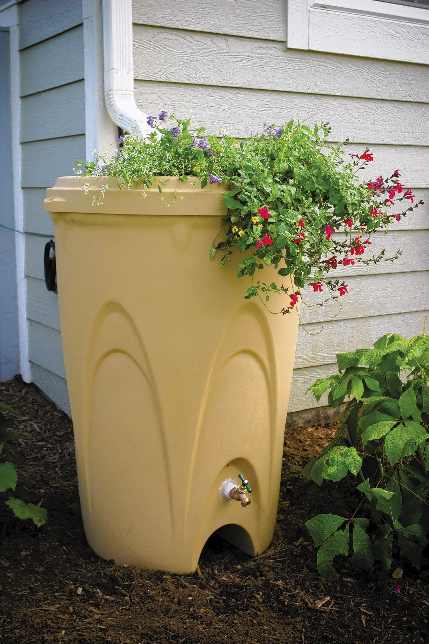 Two workshops in April will cover conserving water by installing a rain barrel.