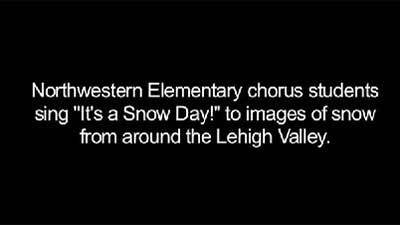 Northwestern students sing 'It's a snow day'