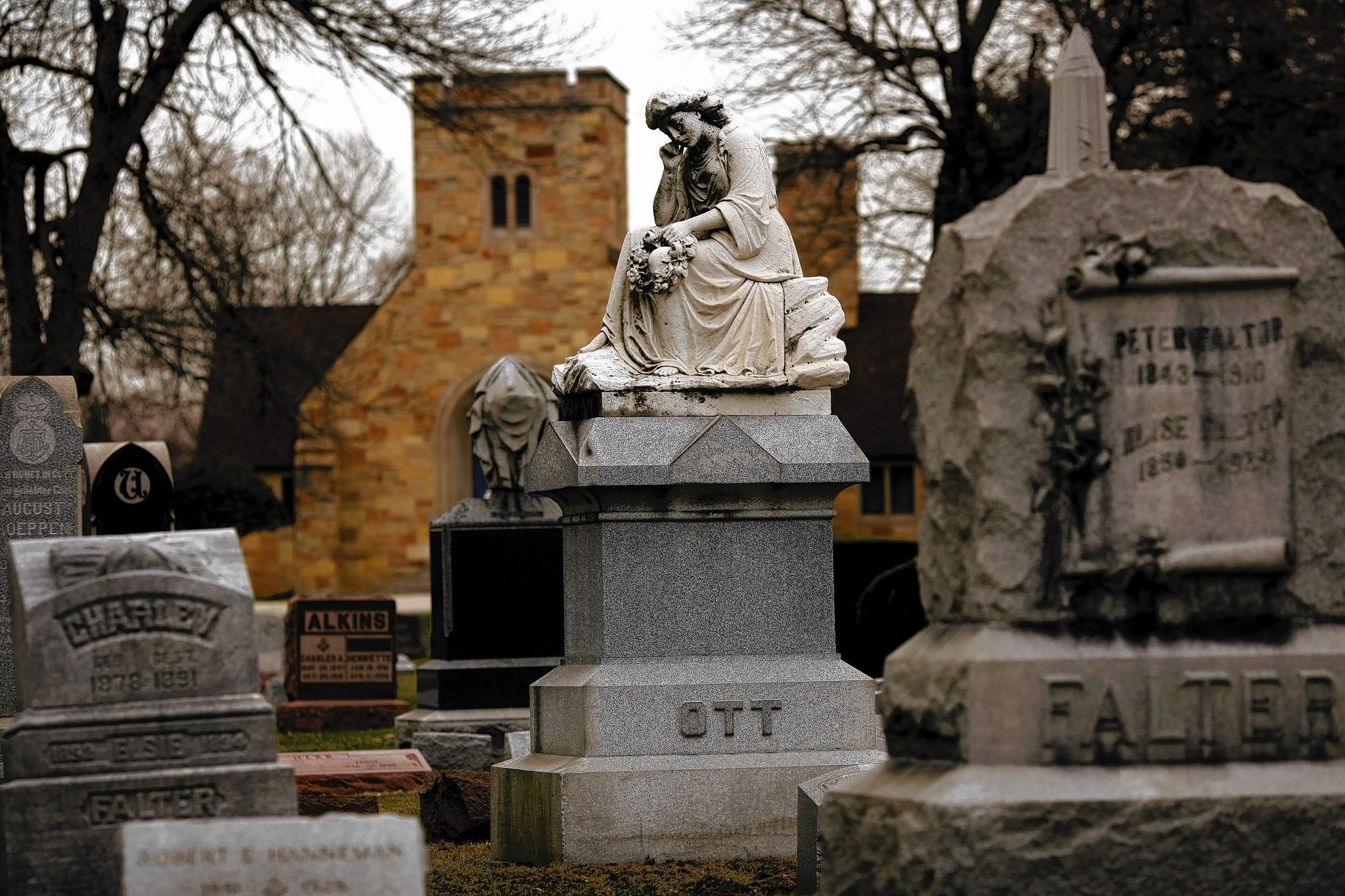 """Forest Park has four major cemeteries, including the Forest Home Cemetery. The lives of the people buried in them were the inspiration for the Historical Society of Forest Park's """"The Des Plaines River Anthology,"""" a collection of poetry."""