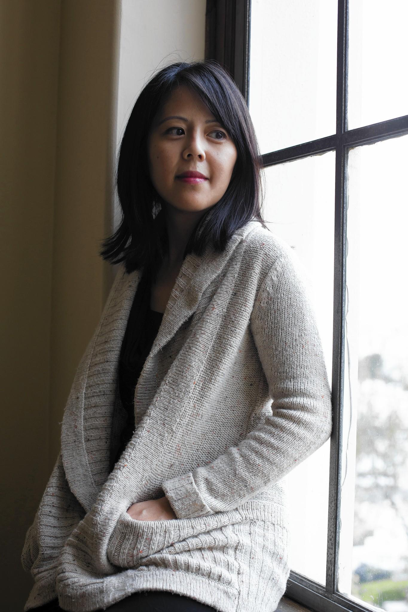 """Bich Minh Nguyen, author of """"Pioneer Girl,"""" said she thinks that modern immigrant families have some similar experiences to 19th-century pioneer families."""