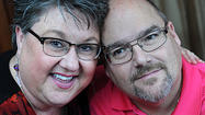 Breast cancer and online dating put couple on path to love