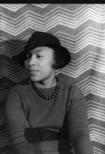 "Zora Neale Hurston, author of ""Their Eyes Were Watching God,"" is photographed around 1938 by Carl Van Vechten. The image is from Edward White's biography ""The Tastemaker: Carl Van Vechten and the Birth of Modern America."""
