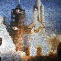 Mosaic of space shuttle Columbia