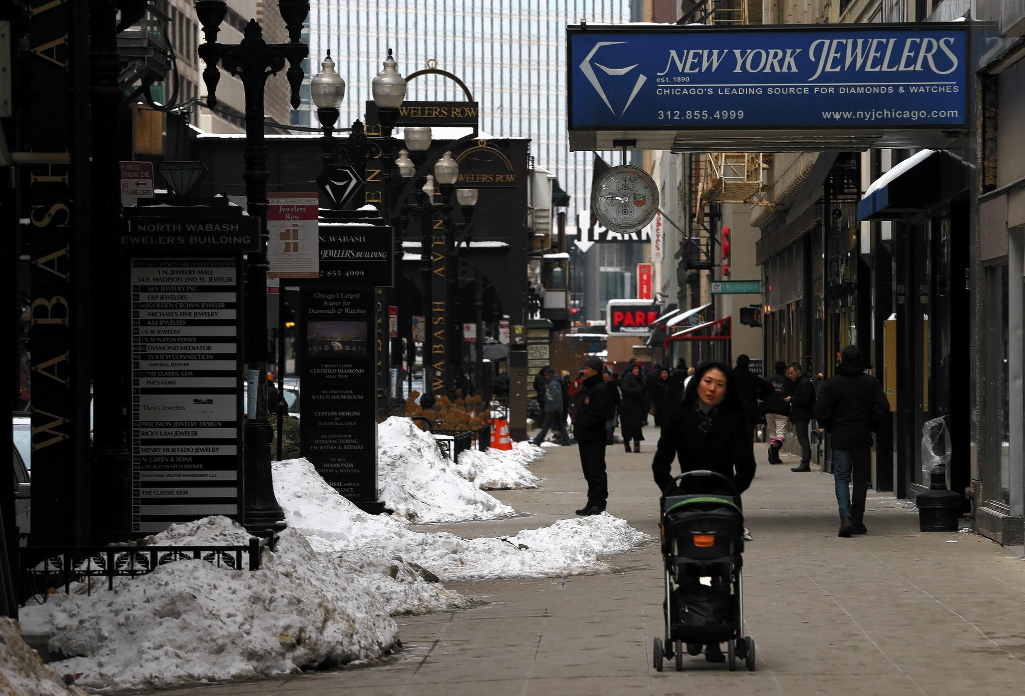 One of the group's main goals for the next five years is to revitalize Wabash Avenue, home to historic buildings, Jewelers Row and a hodgepodge of shops and vacancies.
