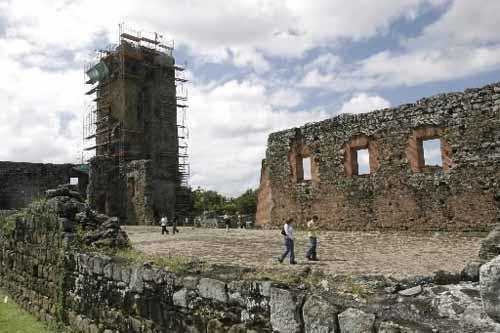 The Tower of Panama la Vieja