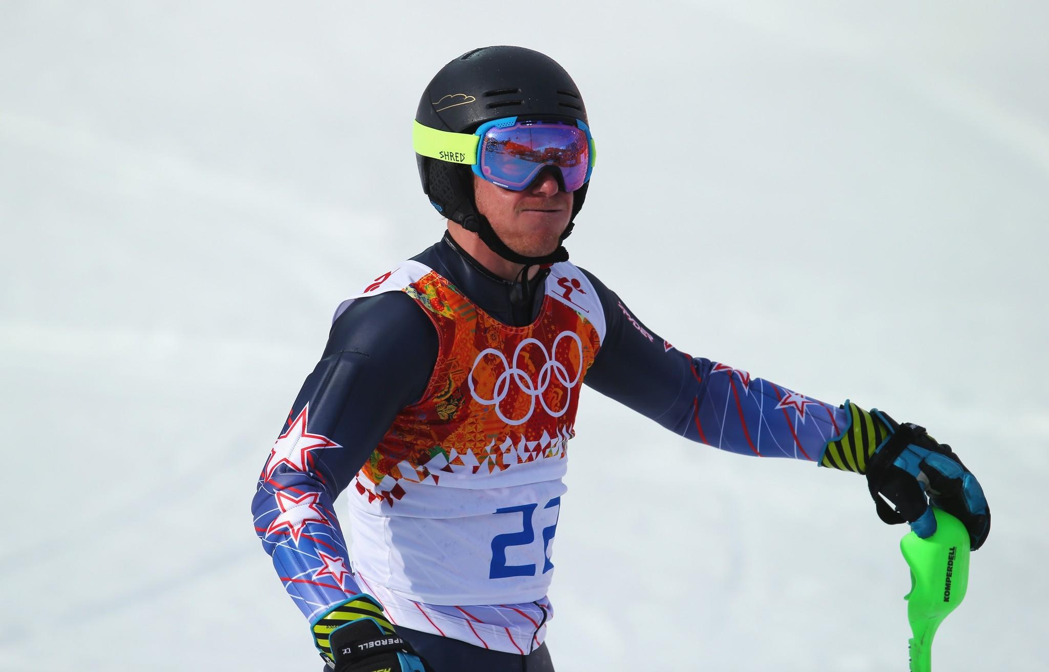 Todd Ligety competes Friday in the super combined.