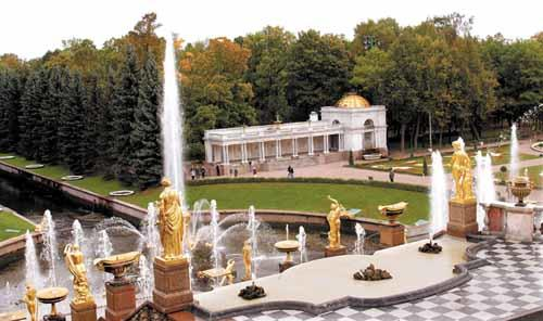 Great Cascade at Peterhof